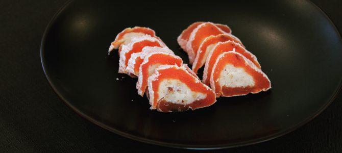 2月「和風生姜ショコラ」「干し柿のスパイス餡包み」レッスン終了いたしました(2/12)